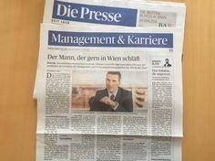 Accenture Österreich-Chef Michael Zettel. Der Mann, der gern in Wien schläft.