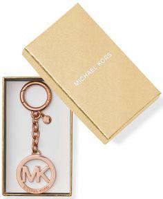 Michael Kors Logo Key Charm Rose Gold in Gift Box NWT #MichaelKors