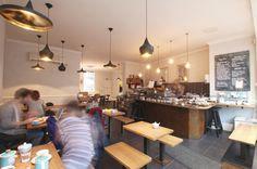 Matthew Elton Ltd, London, England | Bespoke hand-made furniture and custom designed and built interiors | Bespoke | Fee & Brown, Boutique Coffee House, Beckenham