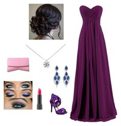 """""""Mariah's Prom Day"""" by mariahdillavou on Polyvore"""