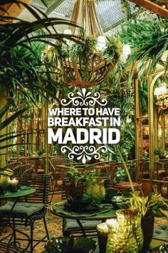 Discover 10 Best Places for Breakfast in Madrid. Best Places To Eat, Oh The Places You'll Go, Cool Places To Visit, Food Places, Spain Travel Guide, Europe Travel Tips, Breakfast In Madrid, Ibiza, Madrid Travel