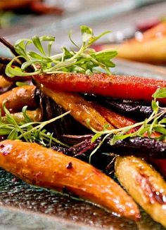 glaze glazed carrots tamarind ginger glazed carrots quatre epices
