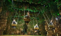 A scene from Matilda the Musical on Broadway. Is Matilda closing in the US because America didn't get it? Theatre Stage, Broadway Theatre, Musical Theatre, Broadway Shows, Theatre Group, Theatre Geek, Matilda Cast, Matilda Broadway, Set Design Theatre