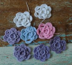 Roses for a shawl made out of rose-grannies:  http://www.sewingdaisies.com.au/.a/6a01156f3d85e6970c017d3c4c475c970c-pi