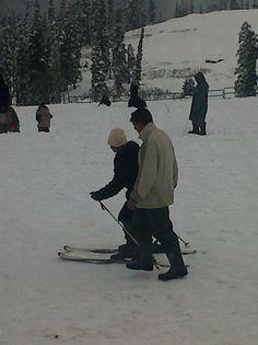 Skiing at Gulmarg
