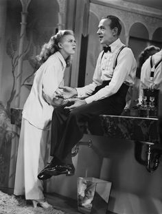 Ginger Rogers and Fred Astaire in The Barkleys of Broadway
