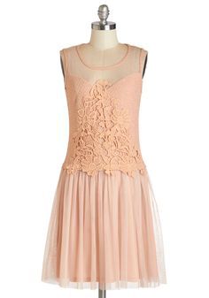 Sweet Serendipity Dress. Running into your friend at the bookstore, you're glad to be wearing this drop-waist, flapper-inspired dress! #pink #modcloth