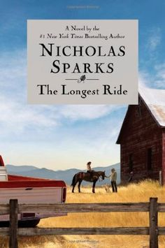 book cover of   The Longest Ride
