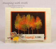 Winter Woods and the Joseph Coat technique card by Kristi @ www. Winter Woods and the Joseph Coat technique card by Kristi @ www. Fall Cards, Holiday Cards, Christmas Cards, Leaf Cards, Men's Cards, Diy Cards, Thanksgiving Cards, Thanksgiving Wedding, Thanksgiving Centerpieces