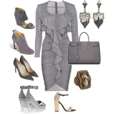 """""""Romantic"""" by audreybeaulacstyle on Polyvore"""