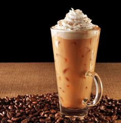 Yummy - just the right time of year for iced coffee!