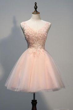 Appliques Short Prom Dresses,Charming Homecoming Dresses,Homecoming Dresses,HC6