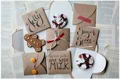 Free printable envelope DIY for the prettiest Christmas cookie gifts | Going Home to Roost