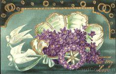 marinni | Старинные открытки- предметы из цветов