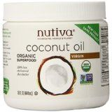 Nutiva Organic Virgin Coconut Oil.   Virgin oil, not hydrogenated. Rich in medium chain good fats that doctors recommend. Heavenly creamy taste of the tropics. Processed naturally maintaining its taste, texture, color and aroma. No refrigeration required; solid at room temperature and melts at 76 degrees. Food sensitivity, our products are non GMO and have no soy, no hexane, no gluten, and no dairy. Ingredients, 100% organic extra virgin Coconut Oil.