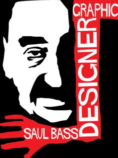 Saul Bass (1920 – 1996) was an American graphic designer and Academy Award winning filmmaker, best known for his design of motion picture title sequences, film posters, and corporate logos.