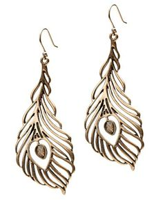 Lucky brand  is awesome. I'm dying to have these earrings.
