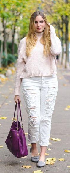 simple pastel outfit idea