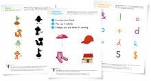 Free worksheets for Preschoolers and up