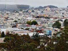 san fran Paris Skyline, Dolores Park, San Francisco, Travel, Viajes, Trips, Tourism, Traveling