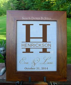 Cotton Anniversary, 2nd Anniversary, Burlap Art, House Warming, Wedding Gifts, Husband Wife, Handmade Gifts, Frame, Fiber