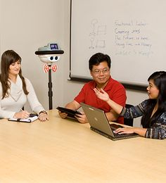 Telepresence Robots Take Over Robotics And Artificial Intelligence, Mechanical Engineering, News Articles, Education, Robots, People, Robot, Engineering, Onderwijs