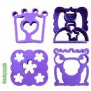 Lunch Punch - Sand*wishes* princess fairy shape cutters