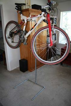 Make your own bicycle repair stand!