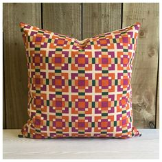 This fabulous cushion cover is handmade from original vintage Yves Saint Laurent fabric dating from the 1970s. ▪️Made to order within 4 working days ▪️Measures 20 x 20 ( Approx ) pattern placement will vary ▪️Backed in a good quality cotton fabric in a complimentary colour ▪️Closes with 4 industrial-strength stud fasteners for a stylish & contemporary look ▪️Front of the cover lined with a cotton fabric ▪️ All seams are double stitched & overlocked for extra durability ▪️Dry clean on...
