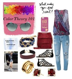 """""What Makes You Feel Real""?"" by stonge-02 on Polyvore featuring Nicole Miller, Levi's, Jimmy Choo, Burberry, Disney, BCBGMAXAZRIA, Bulgari and David Yurman"