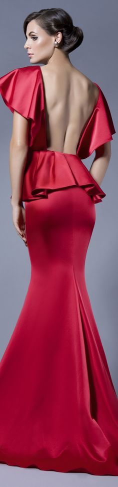 BEAUTIFUL ME Collection: FALL IN LOVE  Rochie de seara gown #red #sexy #back #elegant #large #formal #dress <3
