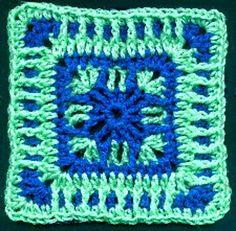 Ravelry: Splender Granny Square pattern by Melissa Green
