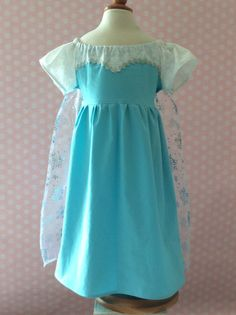 Every Day Princess Dress Costume: Snow Queen Girls and Toddler Dress 12 months to 8yrs