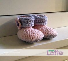 Gehaakte babyslofjes crochet baby booties Crochet Baby Booties, Free Pattern, Booty, Link, Shoes, Swag, Zapatos, Shoes Outlet, Footwear