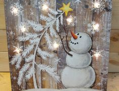 Details about Christmas - Old Truck Christmas Tree -- 3 D - LED Lighted Wood Sign Snowman Christmas Decorations, Christmas Signs Wood, Snowman Crafts, Christmas Snowman, Rustic Christmas, White Christmas, Holiday Decor, Snowman Tree, Snowman Wreath