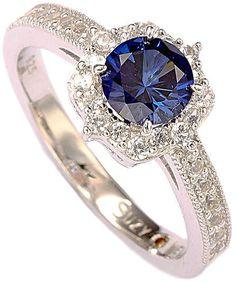 Top Designers for Women, Men, Kids, Home & Sapphire Gemstone, White Sapphire, Cool Gifts For Women, Gifts For Mom, Silver Diamonds, Valentine Day Gifts, Valentines, Suzy, Engagement Rings