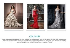 Colour Wedding Trends for 2013
