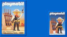 PLAYMOBIL set #3381 - Sheriff.