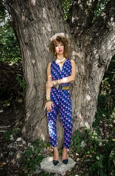 Jumpsuit from the Afrida avec plaisir collection - Julia Klaus Photography -