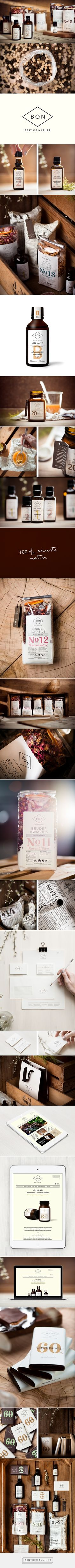 Best of Nature – Branding, Packaging, Web Design By moodley brand identity