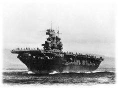 The most decorated ship of the Second World War, Enterprise changed the very course of a war she seemed to have been expressly created for. Uss Enterprise Cv 6, Naval History, Military History, American Aircraft Carriers, Uss Yorktown, Navy Carriers, Navy Aircraft Carrier, Go Navy, Us Navy Ships
