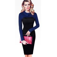 Forever Fitted Full Sleeve Dress – ZillyChic