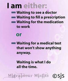 Haha!!!!! Yep!!  This is what I've been doing since April. I know there is a combo out there that will give me relief with minimal side effects.  Sometimes the drugs work but the side effects are worse than the disease - ms.