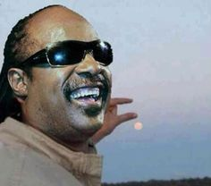 Stevie Wonder Holding The Moon....dirty humor I know but tis funny!!