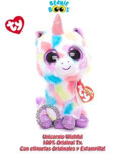 Peluche Beanie Boos Unicornio - Wishful