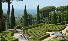 10 of the best public gardens in Italy: Barberini Garden, Castel Gandolfo, near Rome