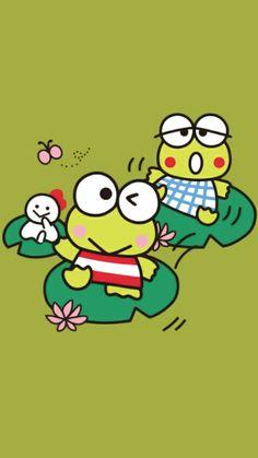 Dan Case, Keroppi Wallpaper, Sanrio Characters, Fictional Characters, Lizards, Snakes, Hello Kitty, Kawaii, Cartoon