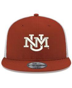 2a18defb94de4 New Era New Mexico Lobos Tc Meshback Snapback Cap - Red Adjustable