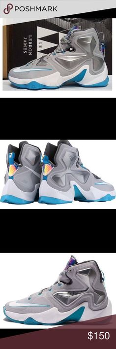 aae20b66afca Lebron James Xlll These are brand new men s Nike Lebron James sneakers.  They are grey