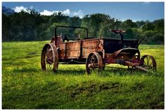 """Virginia farm wagon"" by Jody Miller, Los Angeles // Imagekind.com – Buy stunning, museum-quality fine art prints, framed prints, and canvas prints directly from independent working artists and photographers."